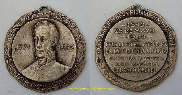 Martin Rodríguez 1771 - 1845 Centenario Argentina