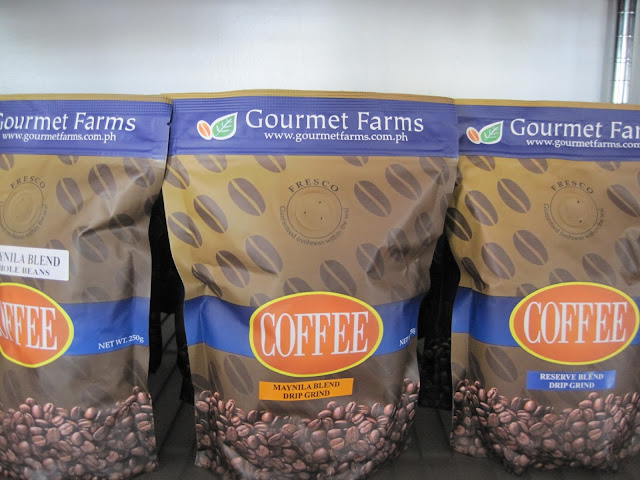 タガイタイのグルメファームスのコーヒー