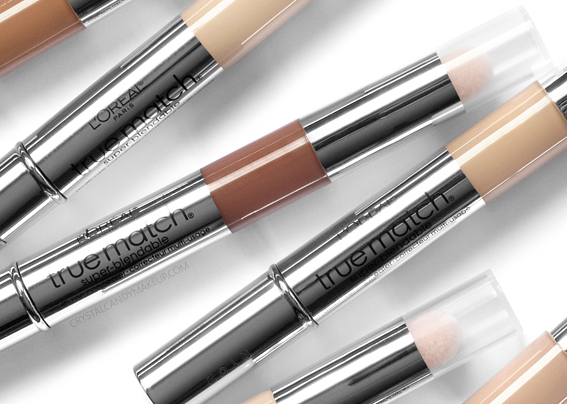 L'Oréal True Match Super-Blendable Multi-Use Concealers MAC NW20 NC45