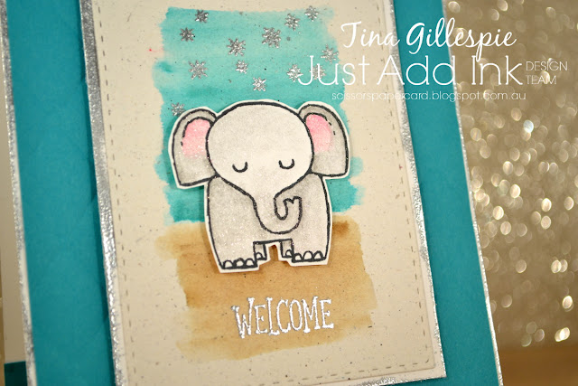 scissorspapercard, Stampin' Up!, Just Add Ink,A Little Wild, Animal Outing, Star Of Light, Balloon Celebration, Tufted DTIEF