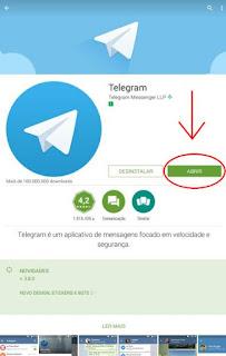 Como criar o Telegram