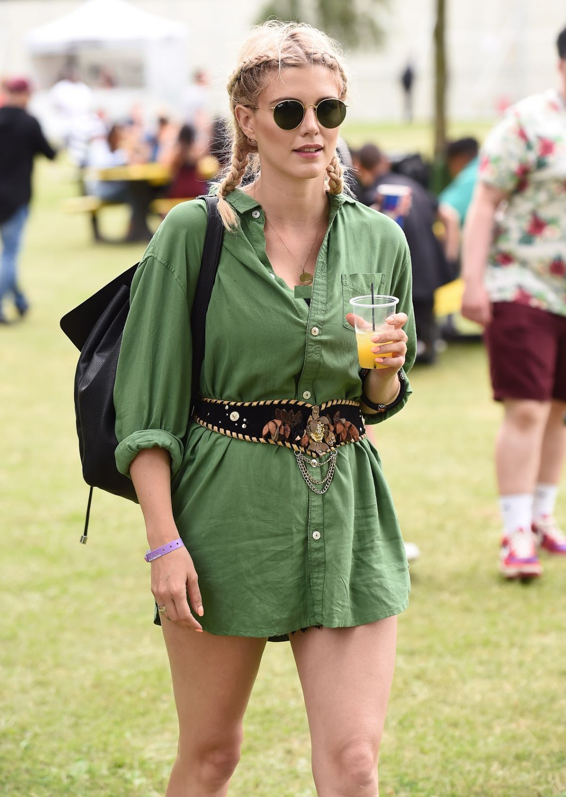 Full HQ Photos of Ashley James At Wireless Festival At Finsbury Park In London