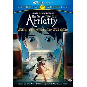 DVD Review - The Secret World of Arrietty