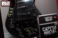 Concorra guitarra autografada pelo Capital Inicial na 89FM