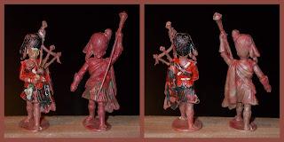 Ethylene Toy; From Hollow-Cast; Highland Bandsmen; Highland Pipes & Drums; Highland Toy Figure; Highland Toy Figures; Highlander; Highlanders; Made in Britain; Polyethylene Toy Soldiers; Sacul; Sacul Highlanders; Sacul Toy Soldiers; Scots Highlanders; Scots Soldiers; Scots Troops; Scottish Highlanders; Scottish Infantry; Small Scale World; smallscaleworld.blogspot.com;