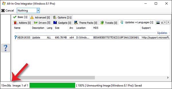 التحديثات نسخة الويندوز لتثبيتها تلقائياً النسخة بوابة 2016 444.PNG