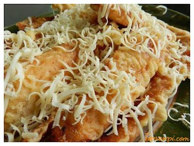 Resepi Pisang Goreng Cheese Leleh