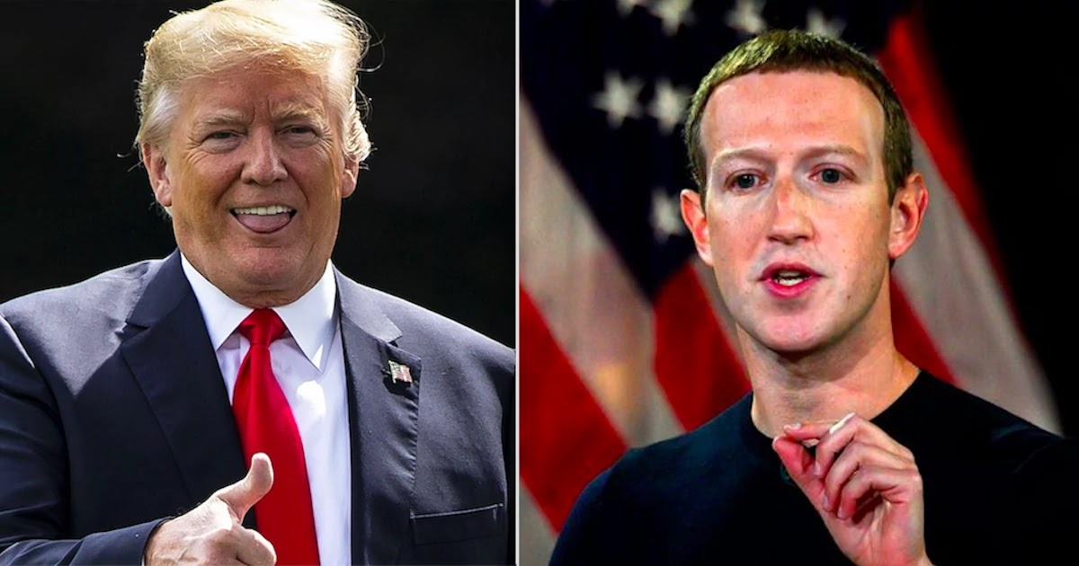 Facebook Removes 88 Trump Ads For Hate Speech But The President's Campaign Doubles Down