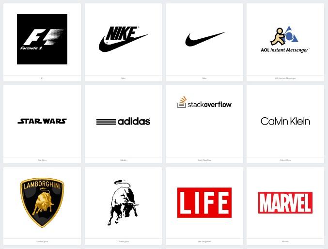 159 Contoh Logo Top Dan Terbaik Serta Terkenal Di Dunia