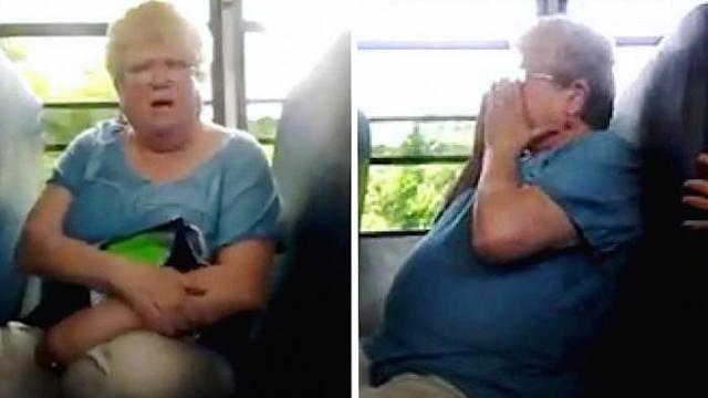 Wanita 68 Tahun Ini di-Bully di Dalam Bus Hingga Menangis, Yang Terjadi Selanjutnya Sangat Mengejutkan!