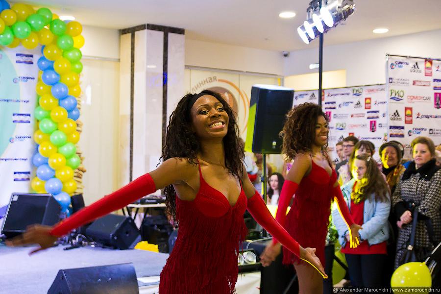 Мулатки-шоколадки из Бразильского танцевального шоу