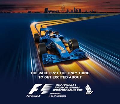 Singapore F1 GP 15-17 Sept 2017