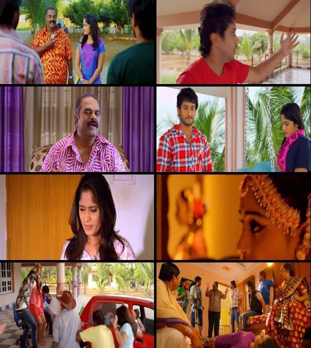 Chitram Bhalare Vichitram 2016 Dual Audio Hindi 720p HDRip