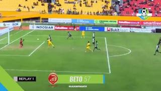 Hasil Skor Sriwijaya FC vs PS Tira 4-1 Liga 1