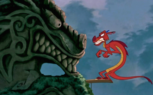 Mushu Mulan 1998 animatedfilmreviews.filminspector.com
