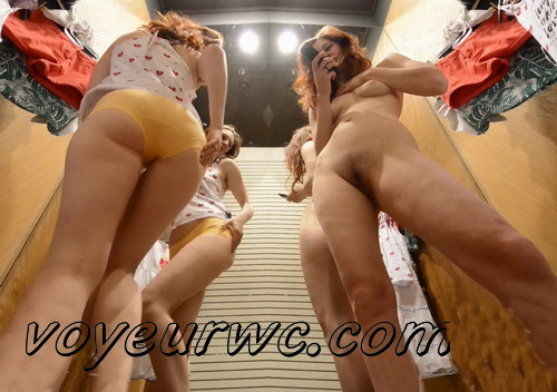 SpyCam 2228-2237 (Shopping Mall changing room. Hidden cam - pretty girls dress up)