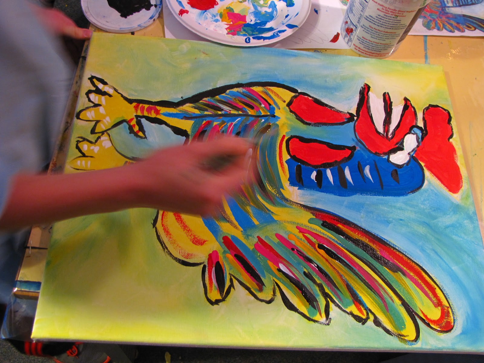 Do Art Picasso Rooster