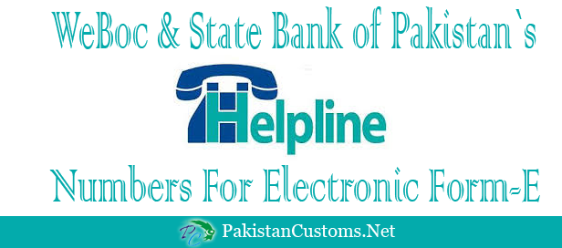 WeBOC-help-line-contact-numbers-and-State-Bank-of-Pakistan Concerned Person