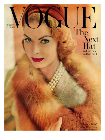 Kupkayke Head 1950 Fashion A Decade Of Vogue Covers