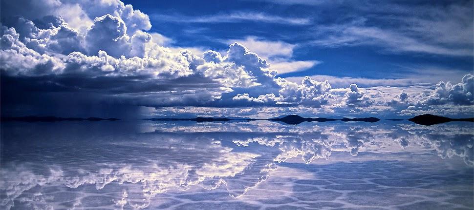 Piruja El espejo mas grande del mundo El Salar de Uyuni