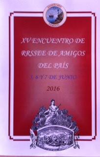 Real Sociedad Económica de Amigos del País XV Encuentros