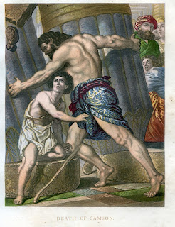 Death of Samson