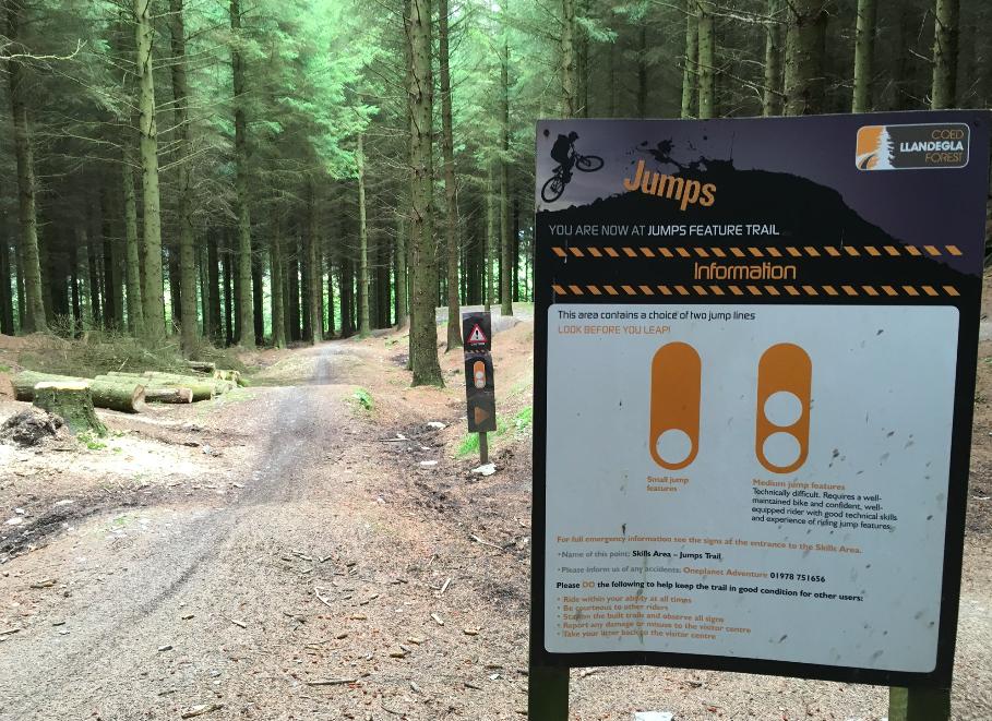 FitBits | Mountain biking in Wales | Llandegla skills area