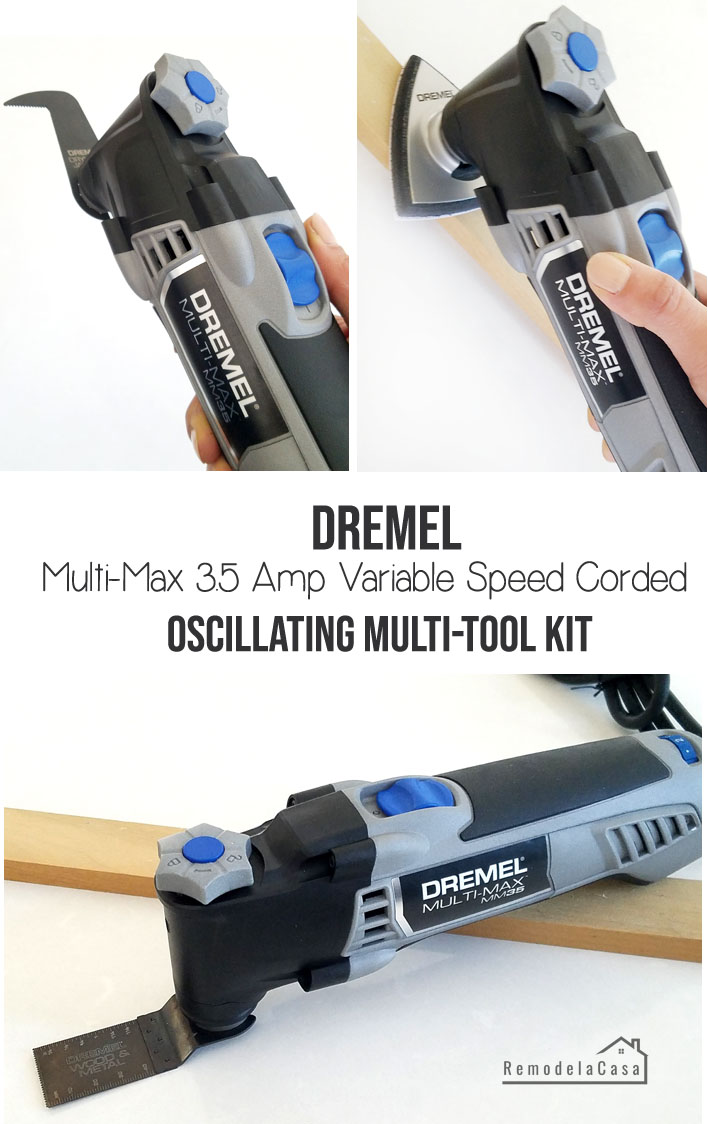 Dremel oscillating multi tool kit
