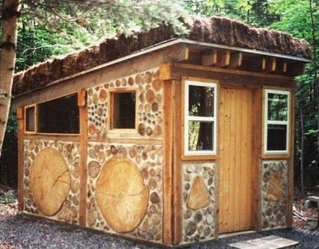 Construcci n de casas con troncos de madera - Construccion de saunas ...