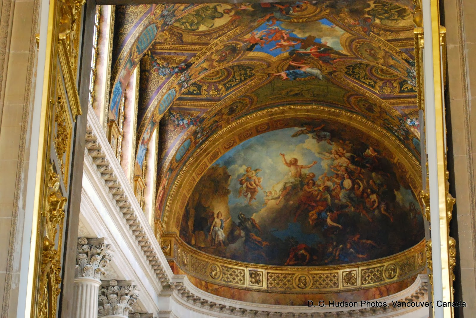 DG Hudson 21st Century Journal The Louvre and Versailles