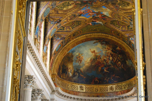 Hudson - 21st Century Journal Louvre And Versailles Ceiling Art