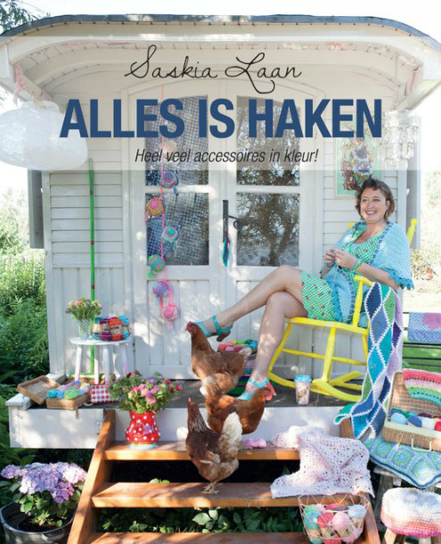Alles is haken, Saskia Laan (foto's Kosmos UItgevers) | Happy in Red