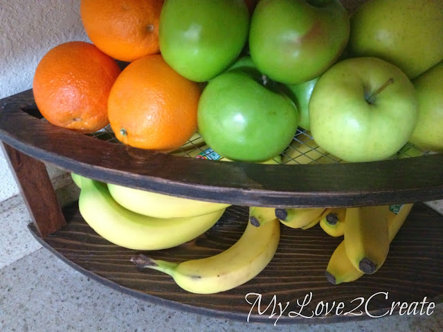 diy fruit tray stand