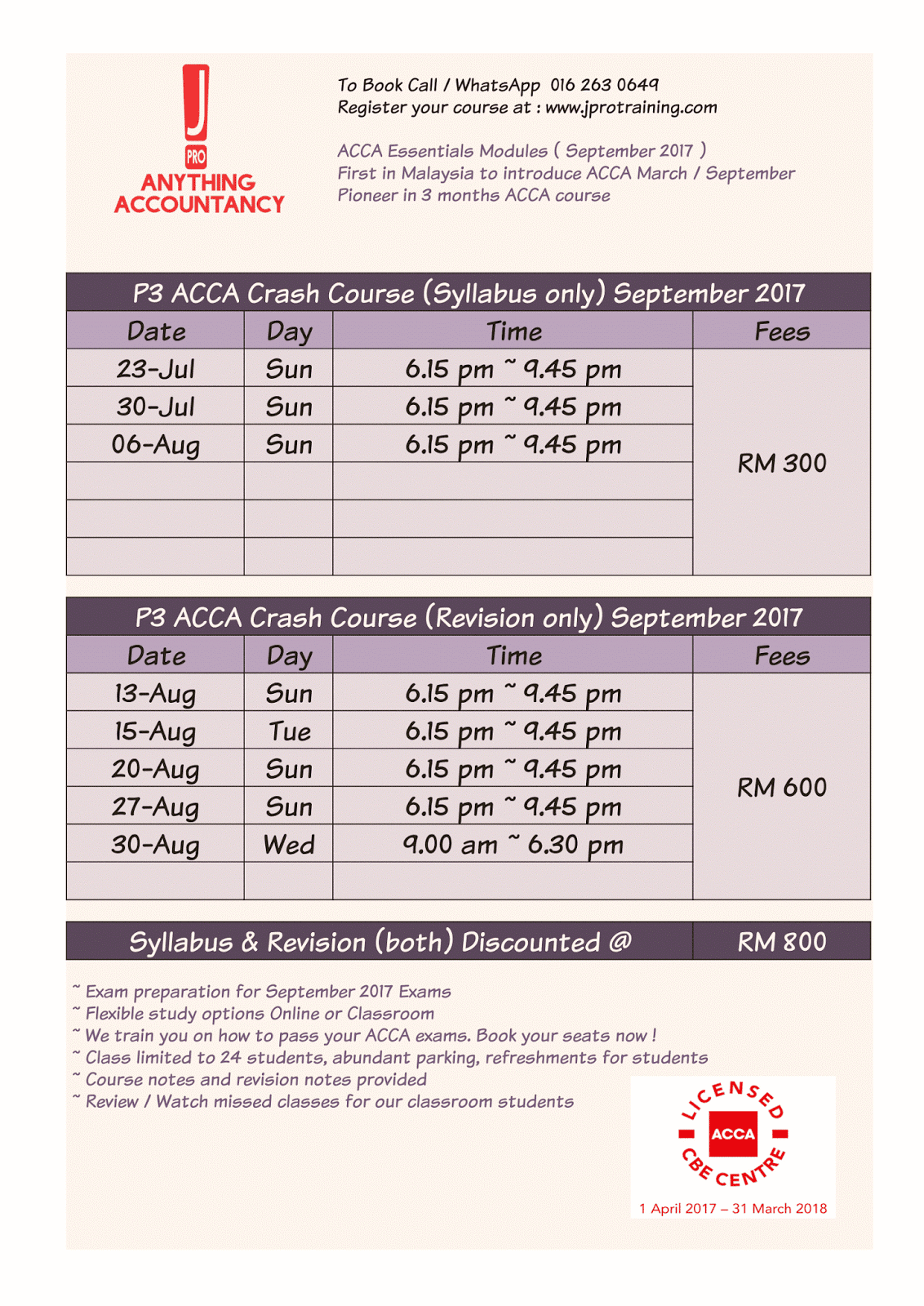 ACCA Qualification | ACCA Exams | Kaplan Financial