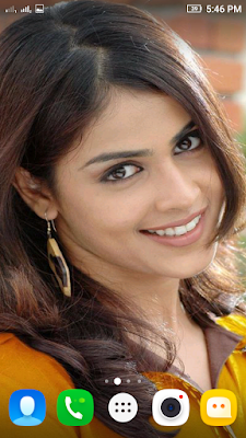 Genelia DSouza 3D live Wallpaper For Android Mobile Phone