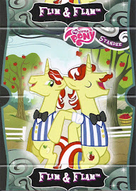 My Little Pony Flim & Flam Series 2 Trading Card
