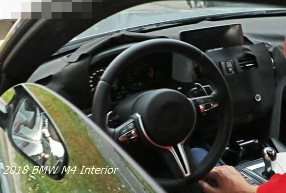 2018 BMW M4 Interior