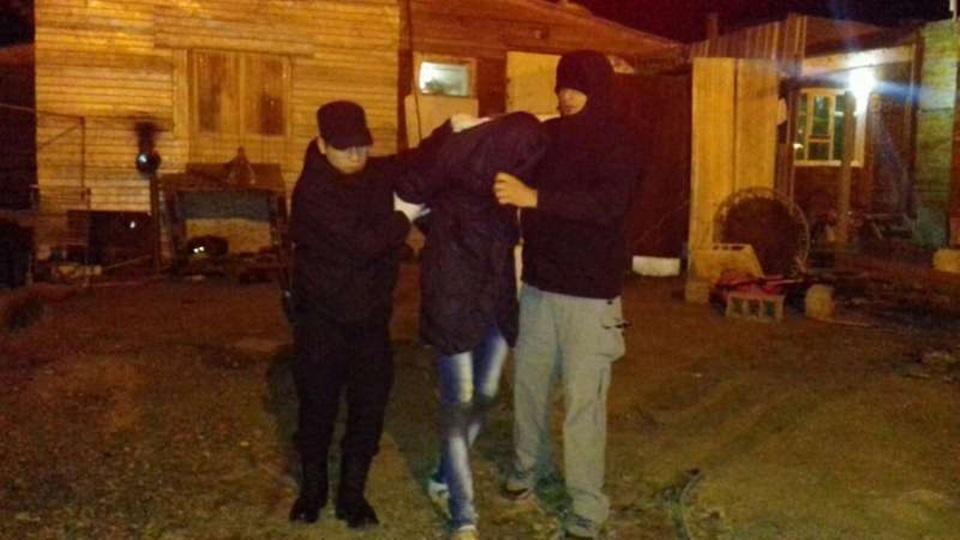 Allanamientos y detenidos por robo automoviles
