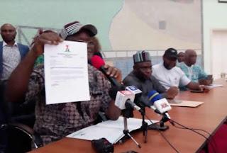 Why I Finally Dumped APC For PDP - Gov. Ortom Reveals, Shares Resignation Letter (Photos)