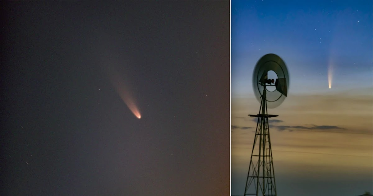 Brightest Comet In Decades Is Now Visible In The Sky With The Naked Eye – Here's How To See It