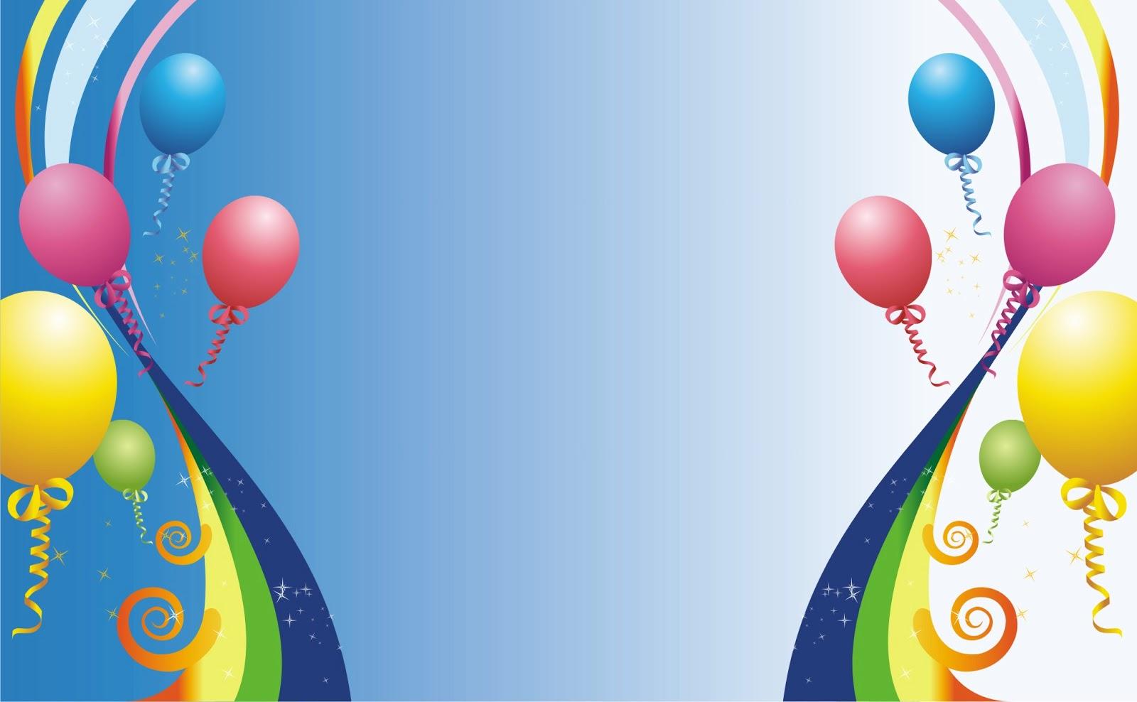 Fondos Fondo Para Cumpleaños Globos
