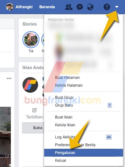Mematikan Pemberitahuan Video Siaran Langsung di Facebook