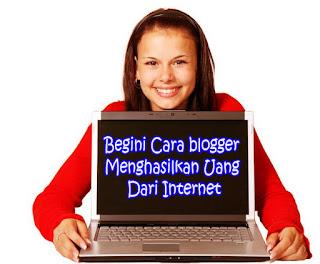 cara blogger mendapatkan uang