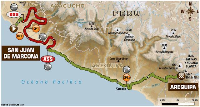 Dakar Arequipa 2018