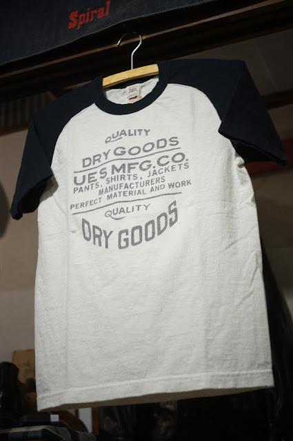 DRYGOODSラグランTシャツ