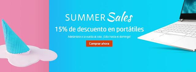Top 10 ofertas Summer Sales (II) de la HP Store (15% descuento en portátiles)
