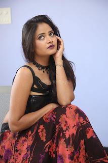 Shriya Vyas in a Tight Backless Sleeveless Crop top and Skirt 109.JPG