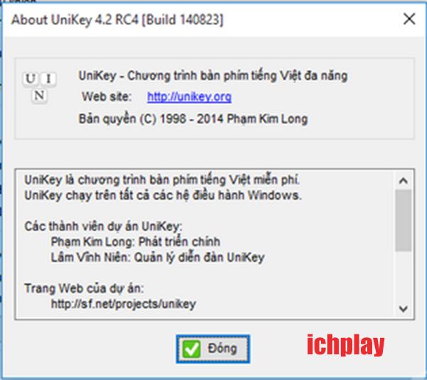 Tải Unikey 4.2 RC4 mới nhất cho PC Win 10, 7, 8, 8.1 XP Miễn Phí Cực Dễ c