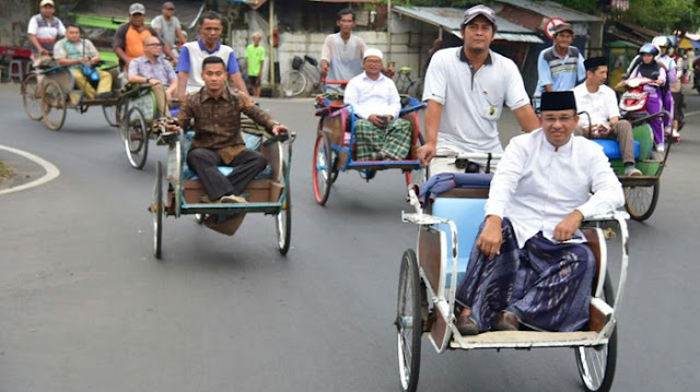 Kembali Ke Zaman 'Primitif' Becak Mau Diaktifkan Gubernur DKI, Komentar Telak Pengamat: Katanya Ada Oke Oce, Ini Malah Manusia 'Diperkuda'