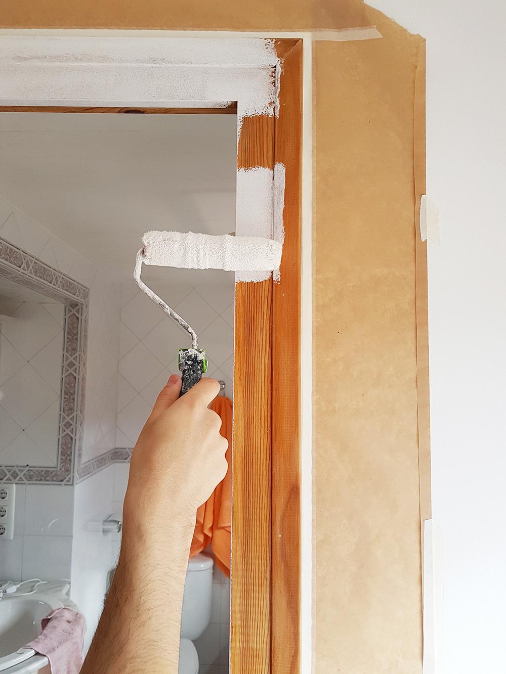 Antes y despu s de nuestras puertas y ventanas alquimia deco for De que color puedo pintar los marcos de las puertas